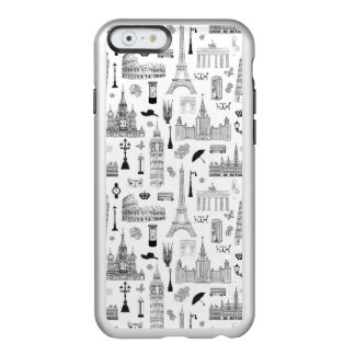 Coque iPhone 6 Incipio Feather® Shine Vacances dans le motif de l'Europe