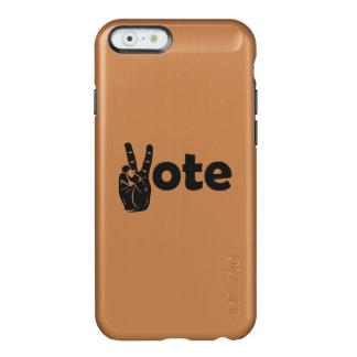 Coque iPhone 6 Incipio Feather® Shine Vote d'illustration pour la paix