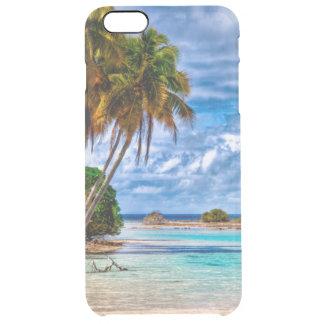 Coque iPhone 6 Plus Aquarelle hawaïenne de plage de joli été mignon