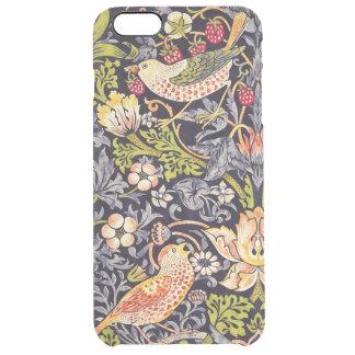 Coque iPhone 6 Plus Art floral Nouveau de voleur de fraise de William