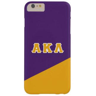 Coque iPhone 6 Plus Barely There Alpha lettres de Grec du Kappa lambda |