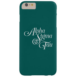 Coque iPhone 6 Plus Barely There Alpha marque de verticale de Tau de sigma