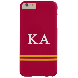 Coque iPhone 6 Plus Barely There Alpha rayure de sport de l'ordre | de Kappa