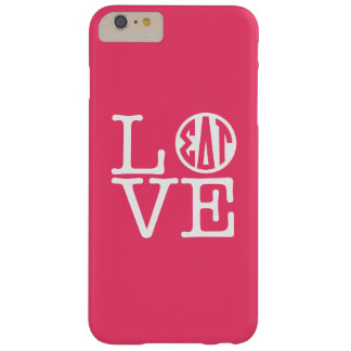 Coque iPhone 6 Plus Barely There Amour de Tau | de delta de sigma