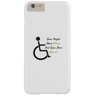 Coque iPhone 6 Plus Barely There Appui d'amour de fauteuil roulant de cadeau de