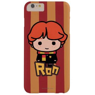 Coque iPhone 6 Plus Barely There Art de personnage de dessin animé de Ron Weasley
