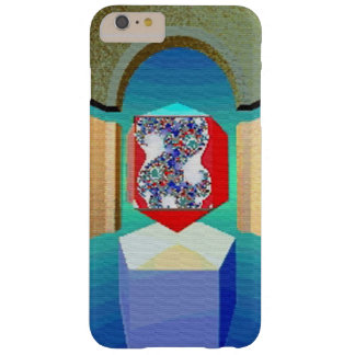 Coque iPhone 6 Plus Barely There Art surréaliste de fractale de TEMPLE de CHAOS ET
