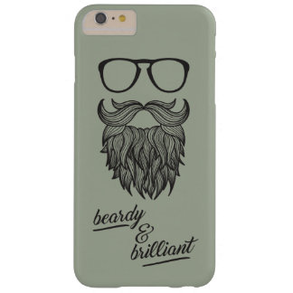 Coque iPhone 6 Plus Barely There beardy et brillant