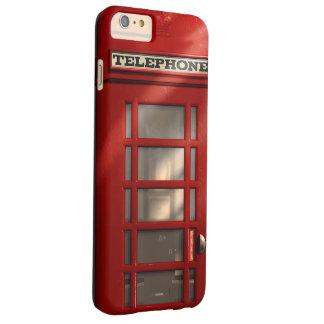 Coque iPhone 6 Plus Barely There Cabine téléphonique rouge britannique vintage