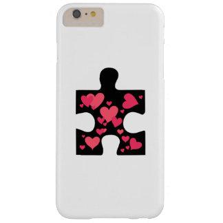 Coque iPhone 6 Plus Barely There Cadeau de sensibilisation sur l'autisme d'amour