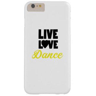 Coque iPhone 6 Plus Barely There Cadeau vivant de danseur de danse de danse d'amour