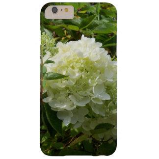 Coque iPhone 6 Plus Barely There Caisse blanche de téléphone d'hortensia