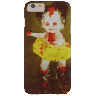 Coque iPhone 6 Plus Barely There caisse foncée de téléphone d'art de poupée