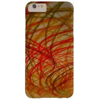 Coque iPhone 6 Plus Barely There Caisse verte et orange de téléphone de griffonnage