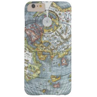 Coque iPhone 6 Plus Barely There Carte antique en forme de coeur vintage Peter du