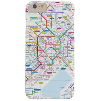 Coque iPhone 6 Plus Barely There Carte de Tokyo