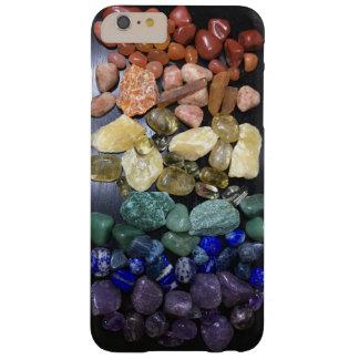 Coque iPhone 6 Plus Barely There Cas de téléphone de roches d'arc-en-ciel