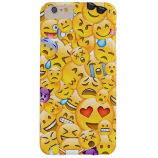 Coque iPhone 6 Plus Barely There Cas d'Emoji