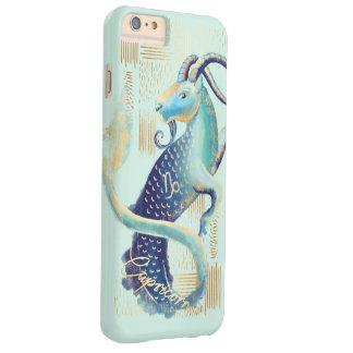 Coque iPhone 6 Plus Barely There Cas pour aquarelle de téléphone d'art de zodiaque