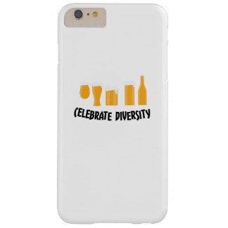 Coque iPhone 6 Plus Barely There Célébrez les cadeaux drôles de buveur de diversité