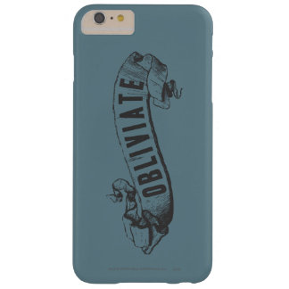 Coque iPhone 6 Plus Barely There Charme | Obliviate de Harry Potter
