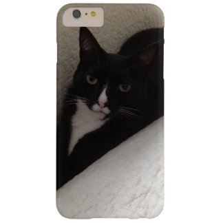 Coque iPhone 6 Plus Barely There Chat assez noir et blanc de chaton