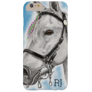 Coque iPhone 6 Plus Barely There Cheval blanc