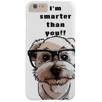 Coque iPhone 6 Plus Barely There Chien futé - collection de chien/cas mignons de