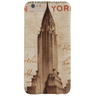 Coque iPhone 6 Plus Barely There Chrysler vintage construisant à New York