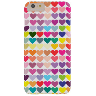 Coque iPhone 6 Plus Barely There Coeurs