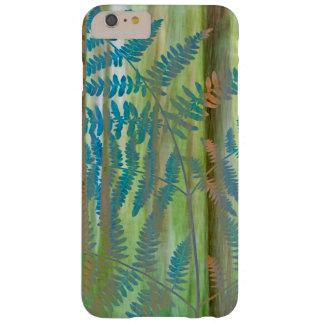 Coque iPhone 6 Plus Barely There Collage des fougères et de la forêt | Seabeck, WA