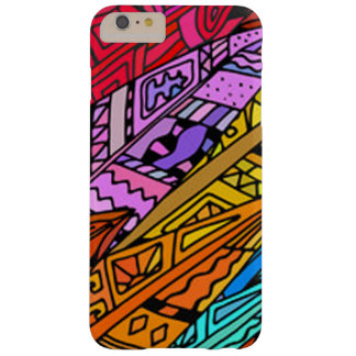Coque iPhone 6 Plus Barely There Conception africaine colorée