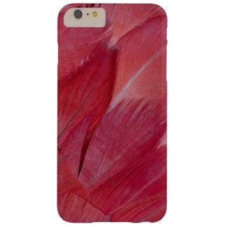 Coque iPhone 6 Plus Barely There Conception de plume de perroquet de gris africain