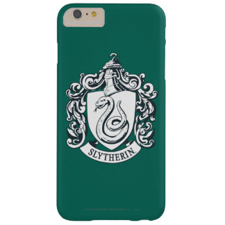 Coque iPhone 6 Plus Barely There Crête de Harry Potter | Slytherin - noire et