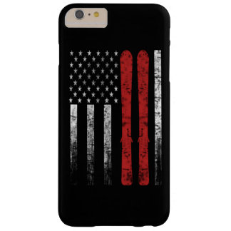 Coque iPhone 6 Plus Barely There Drapeau de ski