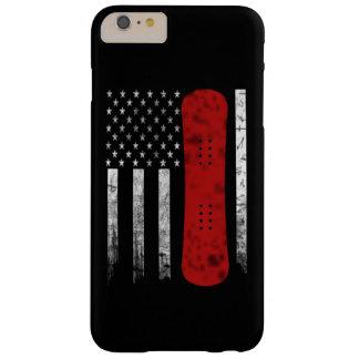 Coque iPhone 6 Plus Barely There Drapeau de snowboarding