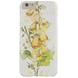 Coque iPhone 6 Plus Barely There Éclaboussure jaune florale