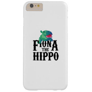 Coque iPhone 6 Plus Barely There Équipe Fiona l'amour Hippopotamuss d'hippopotame