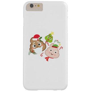 Coque iPhone 6 Plus Barely There Femmes drôles d'hommes d'enfants d'Emoji de