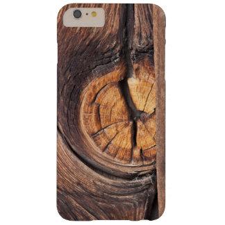 Coque iPhone 6 Plus Barely There Fermez-vous d'un noeud en bois, la Californie