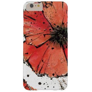 Coque iPhone 6 Plus Barely There Fleur sur un arrière - plan blanc