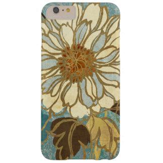Coque iPhone 6 Plus Barely There Floral décoratif dans bleu et blanc