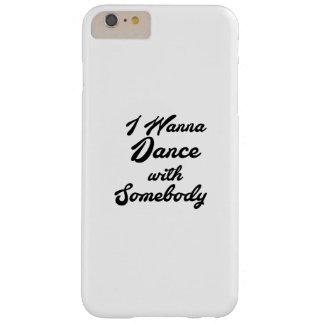 Coque iPhone 6 Plus Barely There GIF de danse que je veux danser avec quelqu'un