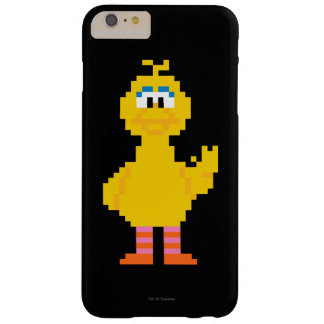 Coque iPhone 6 Plus Barely There Grand art de pixel d'oiseau