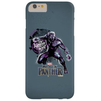 Coque iPhone 6 Plus Barely There Graphic de guerrier de la panthère noire | du Roi