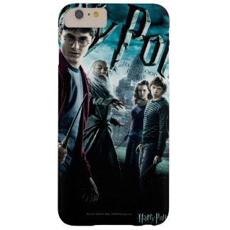 Coque iPhone 6 Plus Barely There Harry Potter avec Dumbledore Ron et Hermione 1