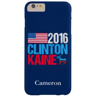 Coque iPhone 6 Plus Barely There Hillary Clinton 2016 Tim Kaine