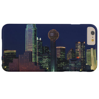 Coque iPhone 6 Plus Barely There Horizon de Dallas la nuit