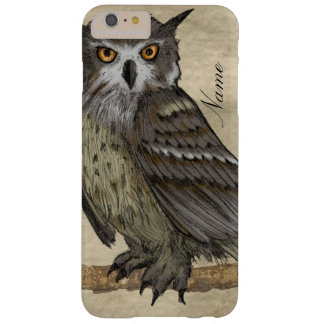 Coque iPhone 6 Plus Barely There Illustration de hibou