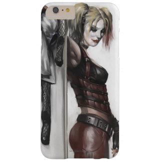 Coque iPhone 6 Plus Barely There Illustration de la ville | Harley Quinn de Batman